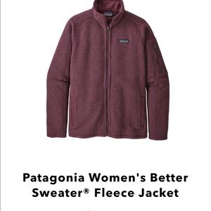 Medium 'Better Sweater' by Patagonia.